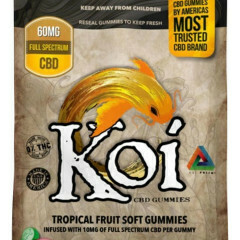 KOI CBD TROPICAL GUMMIES 6-PACK 60MG