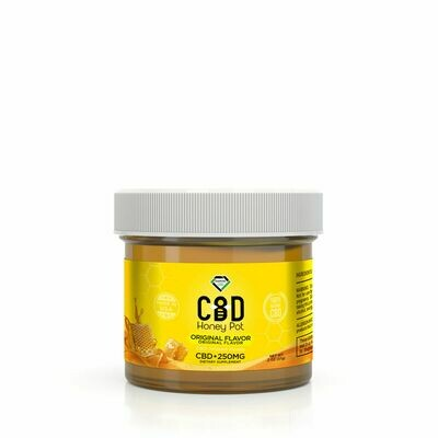 DIAMOND CBD HONEY POT 250MG