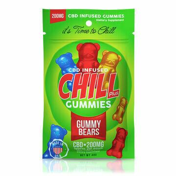 DIAMOND CHILL GUMMY BEARS 200MG