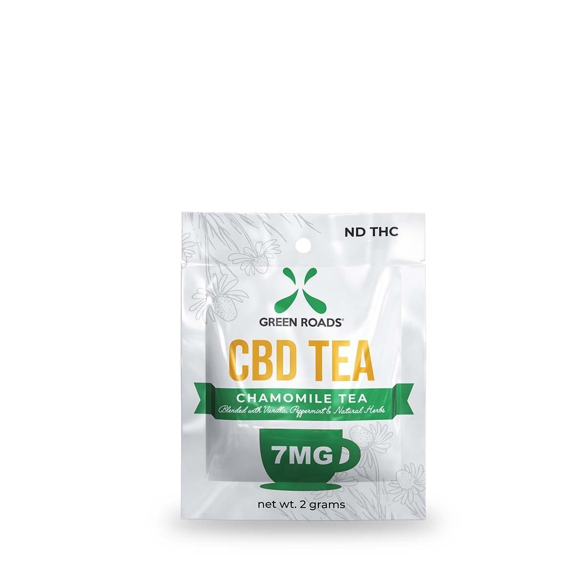 GREEN ROADS TEA CHAMOMILE 7MG