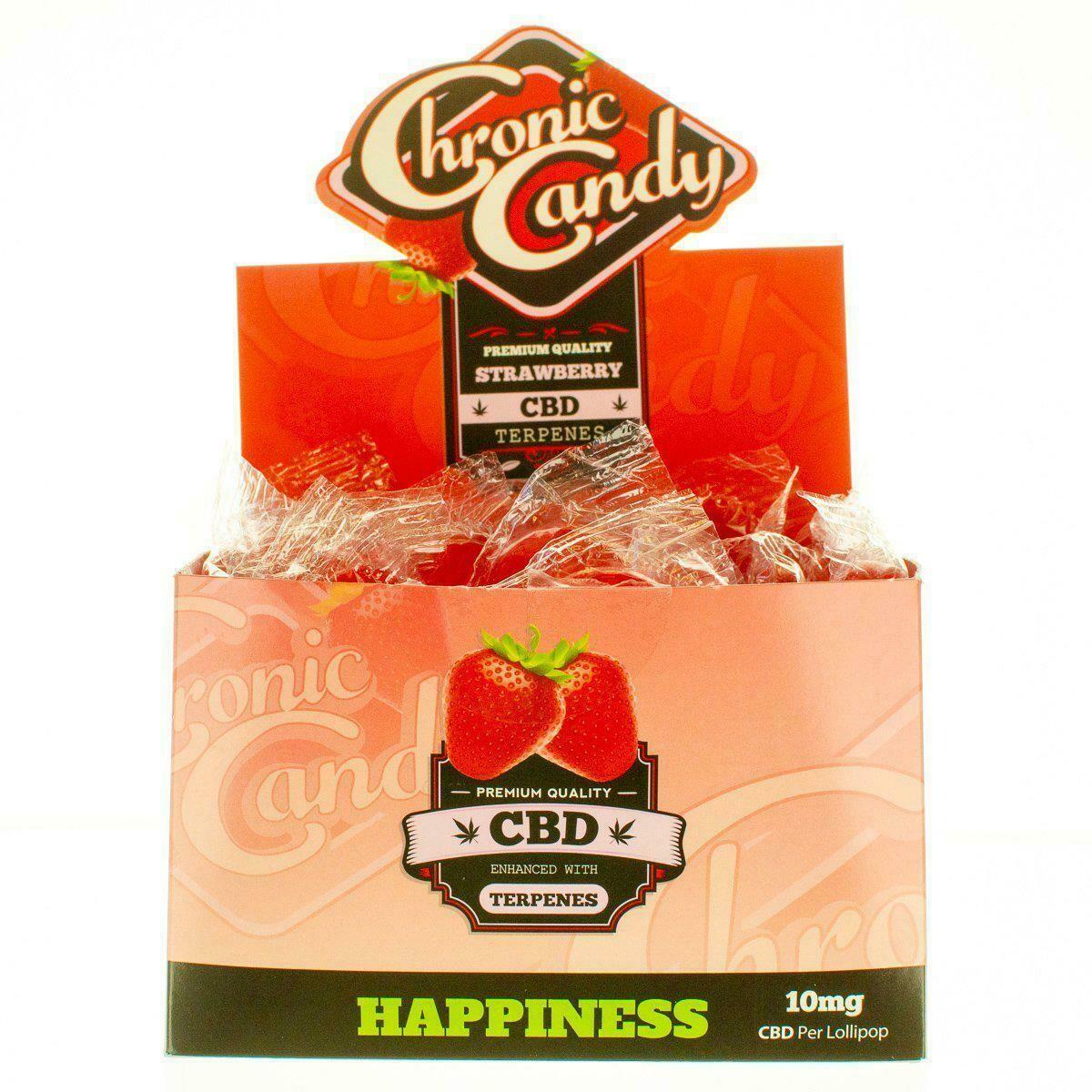 CHRONIC CANDY, CBD LOLLIPOPS TANGIE  10MG