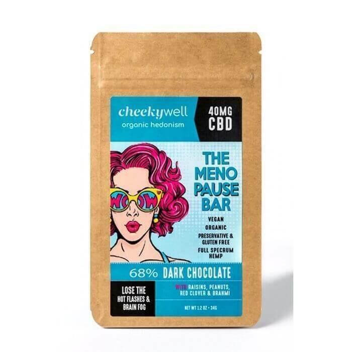 CBD Menopause Dark Chocolate Bar