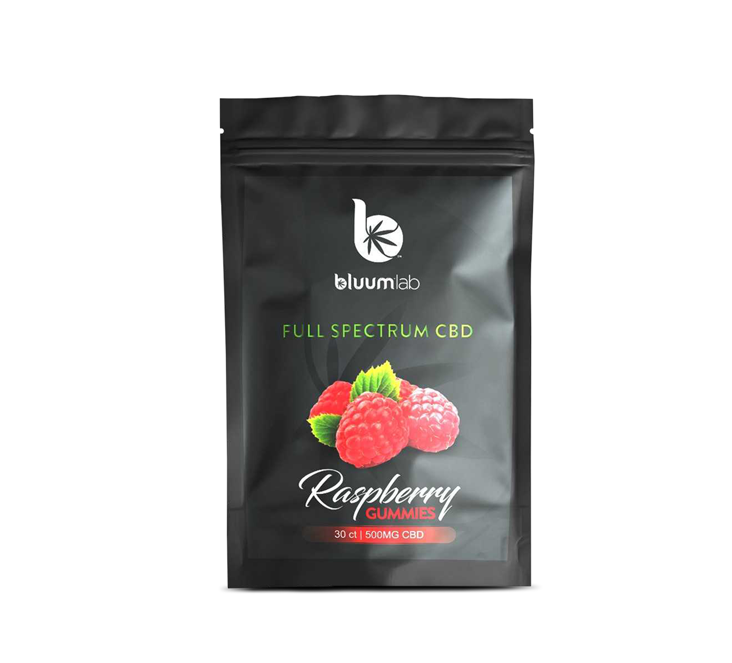 BLUUMLAB, RASPBERRY GUMMIES 500MG