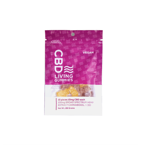 CBD LIVING VEGAN GUMMIES 100MG
