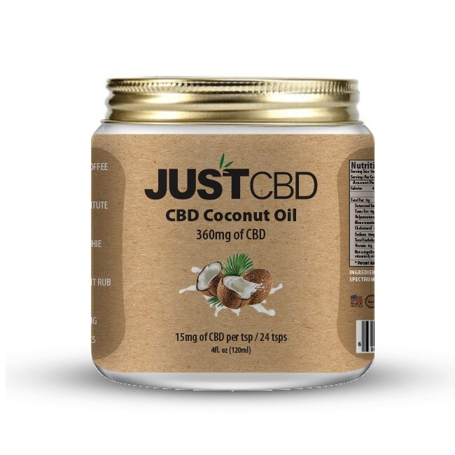 JUST CBD COCONUT OIL