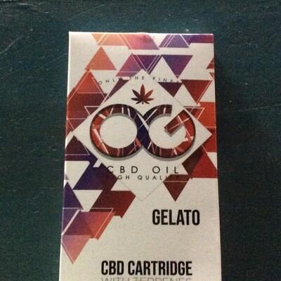 OG CBD Oil Cartridge 500MG