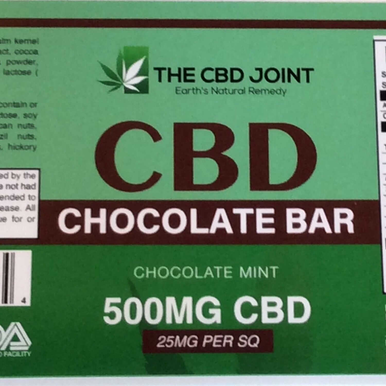 CBD Joint  500MG Mint Bar