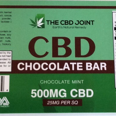 CBD Joint  500MG Mint Bar