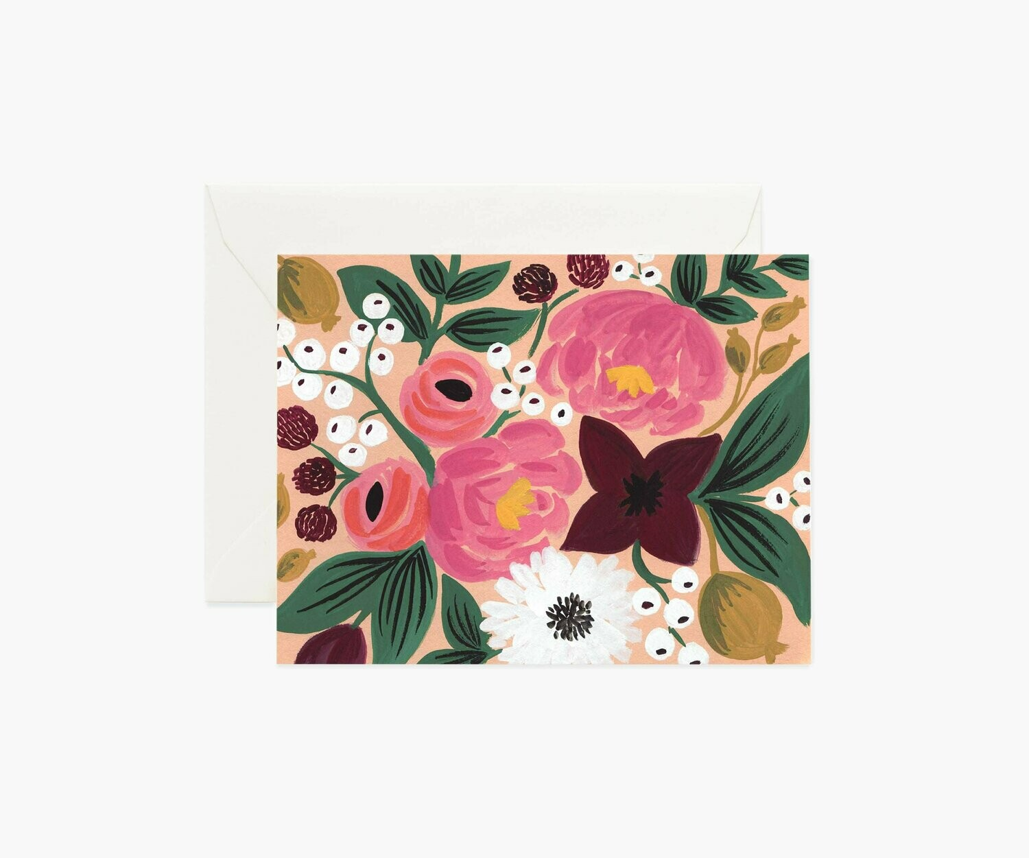 PEACH BLOSSOMS CARD