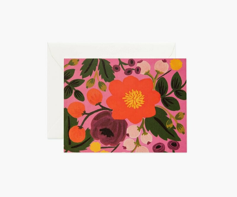 ROSE BLOSSOMS CARD