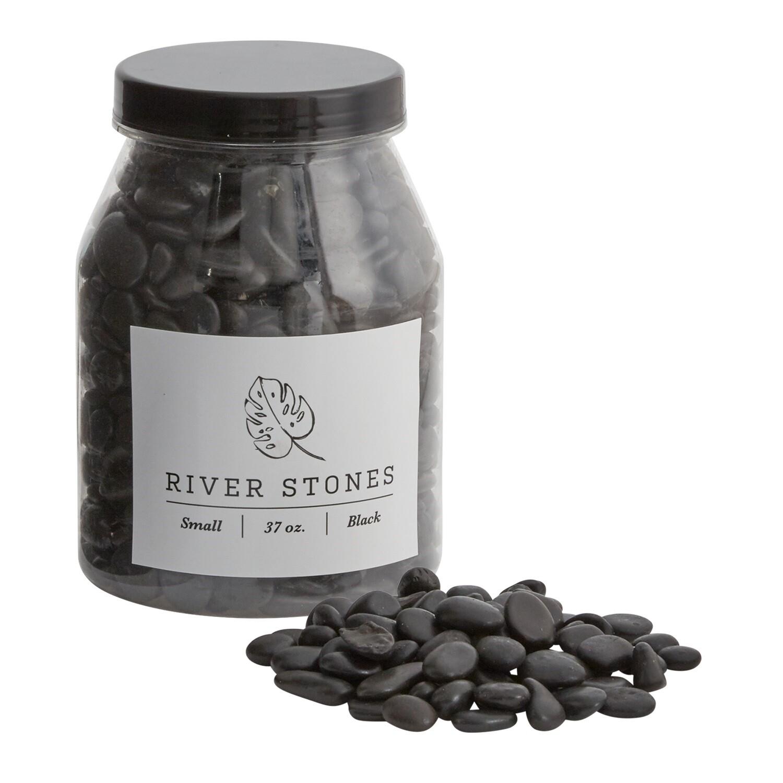 RIVER STONES: BLACK