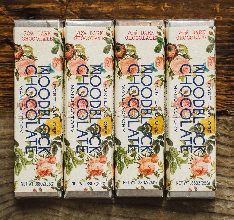 WOODBLOCK SIGNATURE DOUBLE ORIGIN CHOCOLATE BAR: TWO-PACK