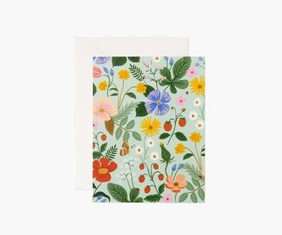 STRAWBERRY FIELDS MINT CARD