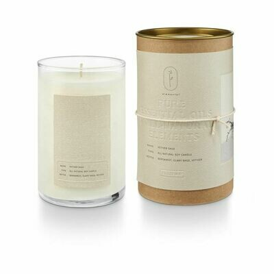 ILLUME GLASS CANDLE: VETIVER SAGE