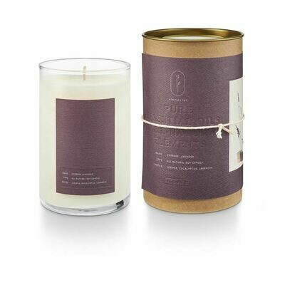 ILLUME GLASS CANDLE: CYPRESS LAVENDER
