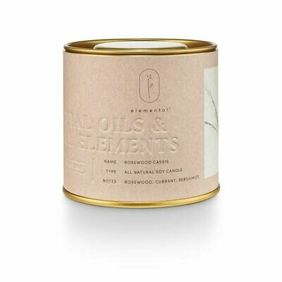 ILLUME TIN CANDLE: ROSEWOOD CASSIS