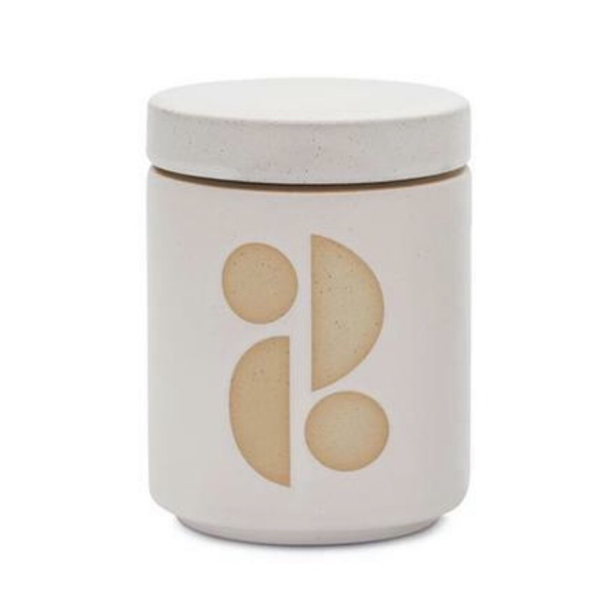 FORM CANDLE: TOBACCO FLOWER (lidded)