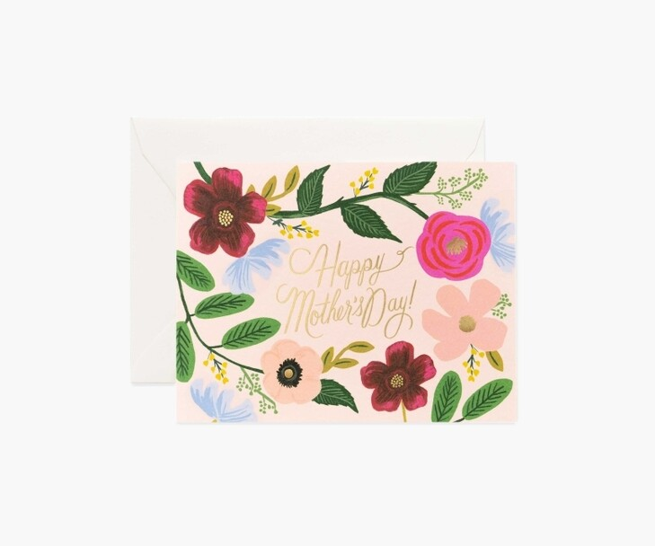 WILDFLOWERS MOTHER'S DAY CARD