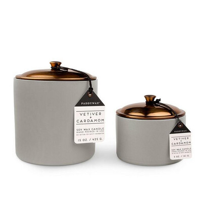 HYGGE CANDLE: VETIVER + CARDAMOM (large)