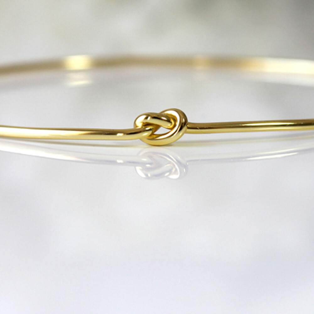 Vermeil Knautical Love Bangle