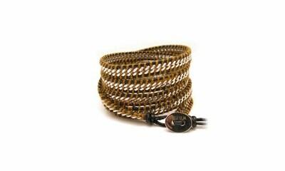 Silver Chain Wrap Bracelet