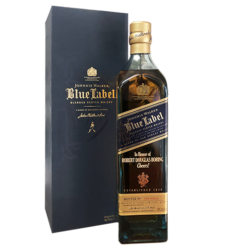 Johnnie Walker Blue Label 750ml w/ FREE ENGRAVING- Please Read PRODUCT DETAILS 2501