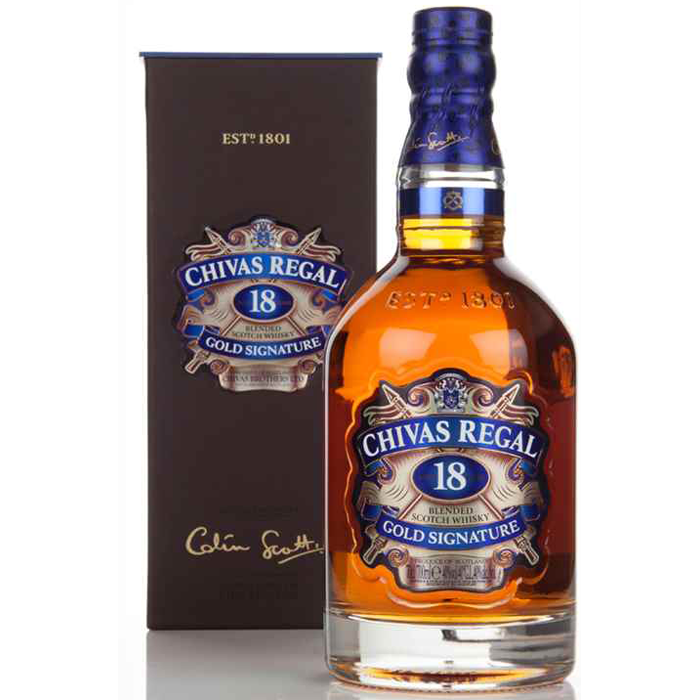 Chivas Regal 18 Year Old Blended Scotch Whisky 750ml 2510-18