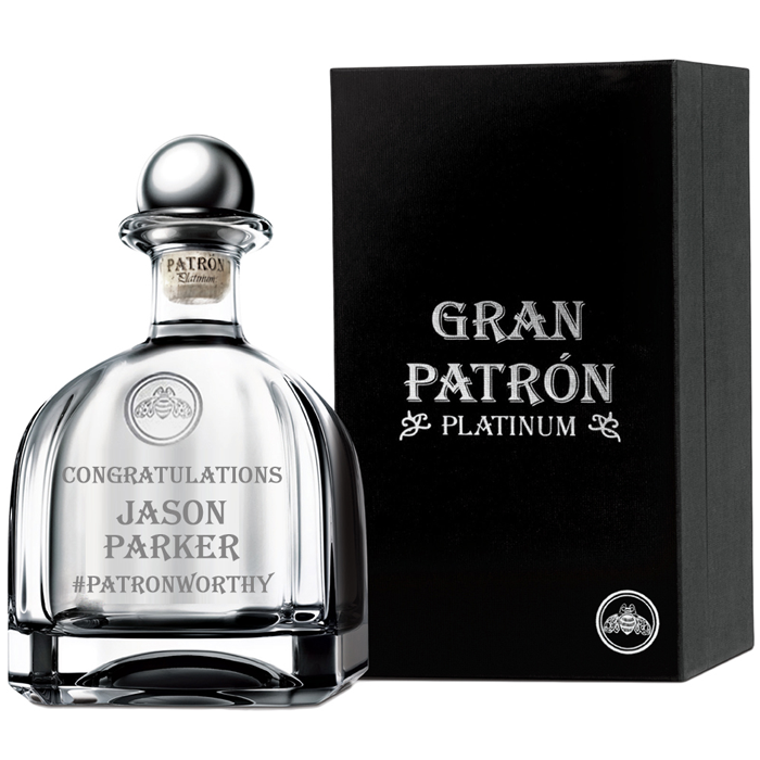 Gran Patrón Platinum Tequila 750ml 2403-Plat-750