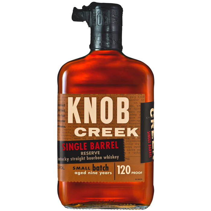 Knob Creek Kentucky Bourbon, Single Barrel Reserve 750ml 2603