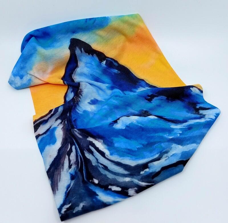 Kolorowa chusta Matterhorn