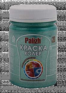 "Краска-колер акриловая ""Palizh"" 175 (Изумруд металлик)"