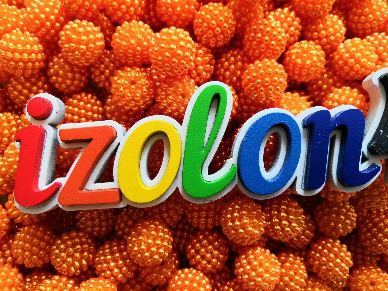 Бусины ягодные трансформеры (Оранжевый) - 10 шт