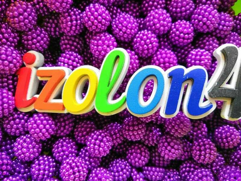 Бусины ягодные трансформеры (Фуксия) - 10шт