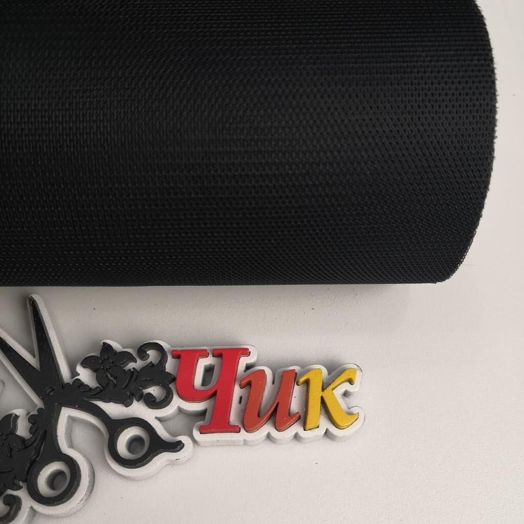 Фатин на шпульке (ширина 15 см) #18 (Черный)