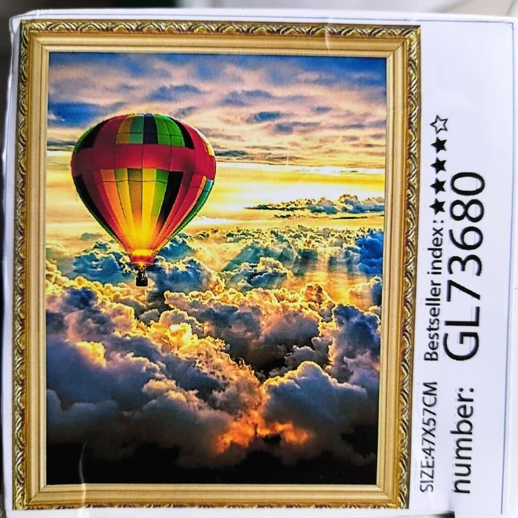 Алмазная мозаика без подрамника 40*50 см GL73680