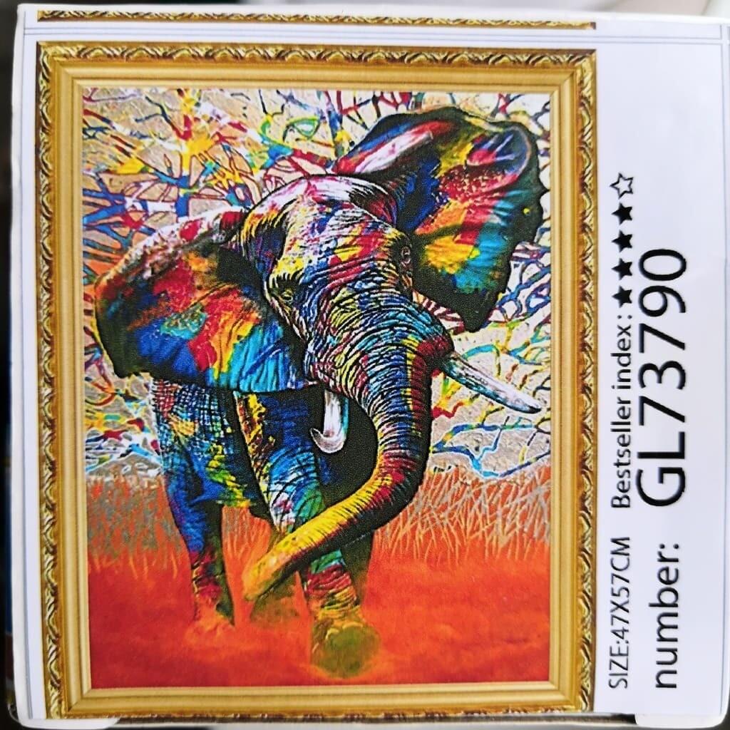 Алмазная мозаика без подрамника 40*50 см GL73790