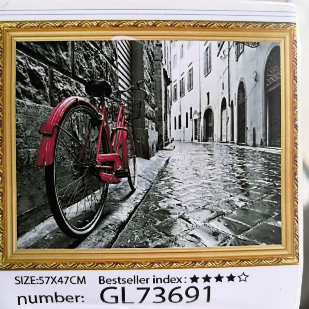Алмазная мозаика без подрамника 50*40 см GL73691