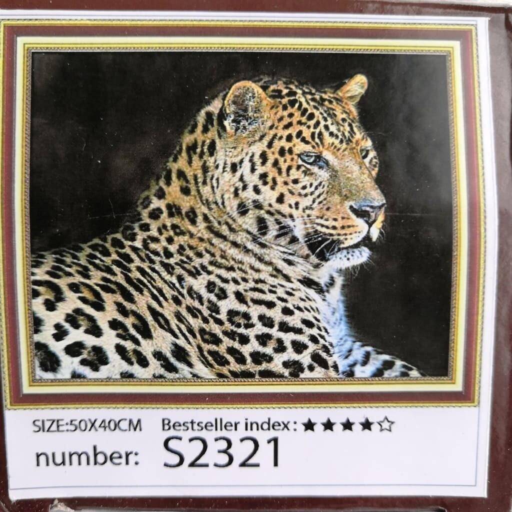 Алмазная мозаика без подрамника 50*40 см S2321