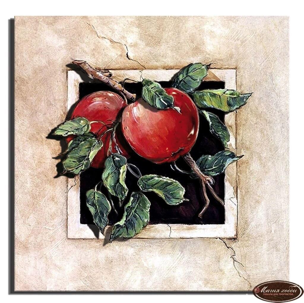"""Папертоль РТ150032 """"Спелые яблочки"""" 20*20см"""