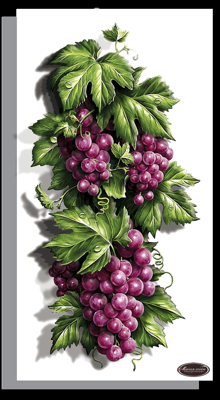 """Папертоль РТ150263 """"Сочный виноград"""" 15*29см."""