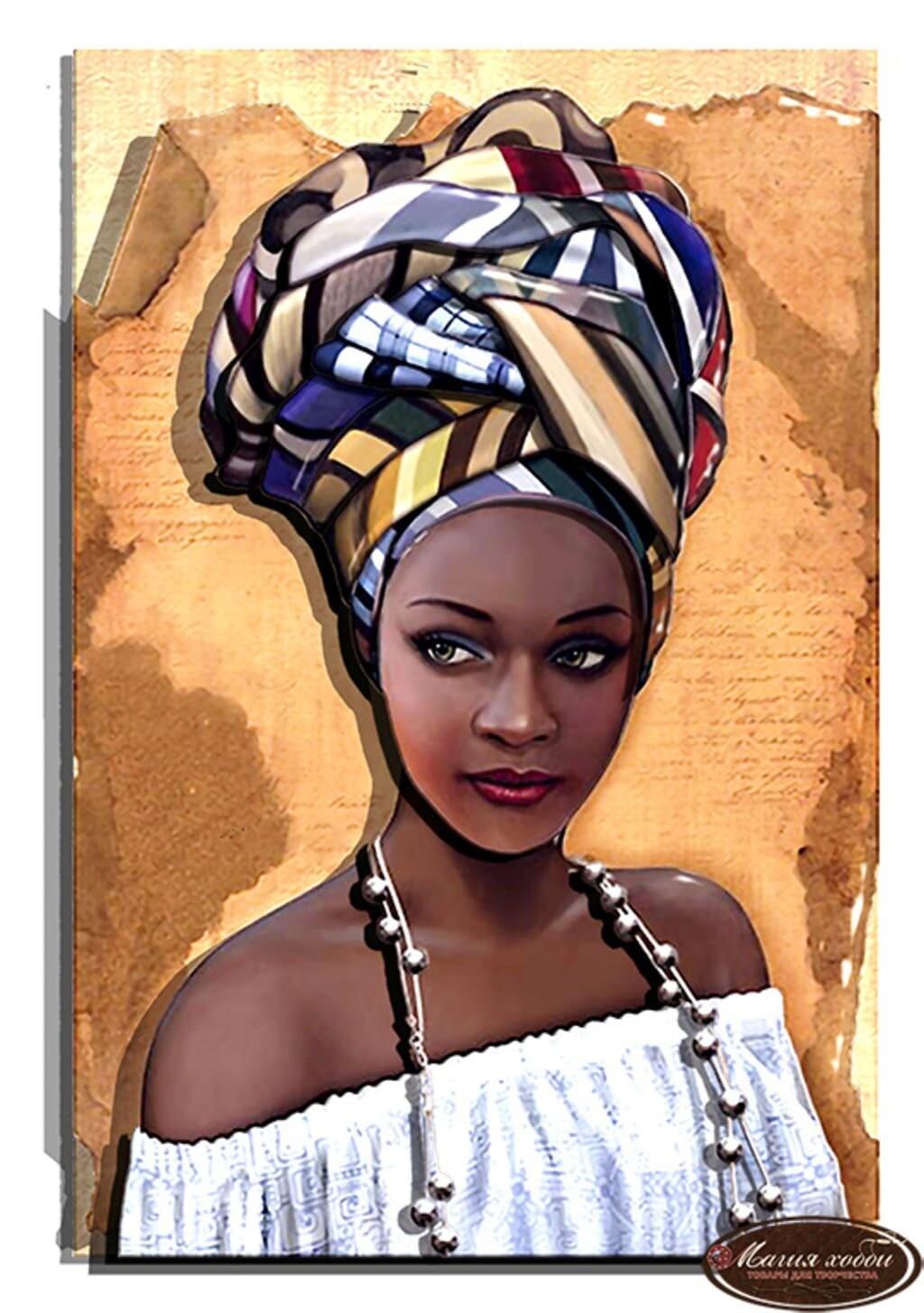 """Папертоль РТ150059 """"Африканка 2"""" 20*29см."""