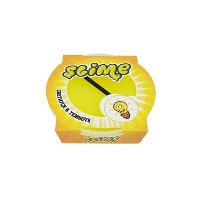 """Slime """"Mega"""", Желтый, Светится в темноте 300 гр."""