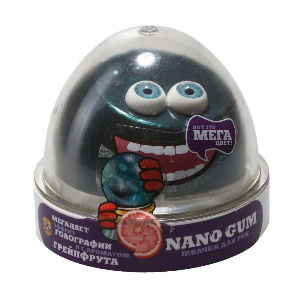 Nano Gum,  эффект голографии и аромат грейпфрута 50 гр