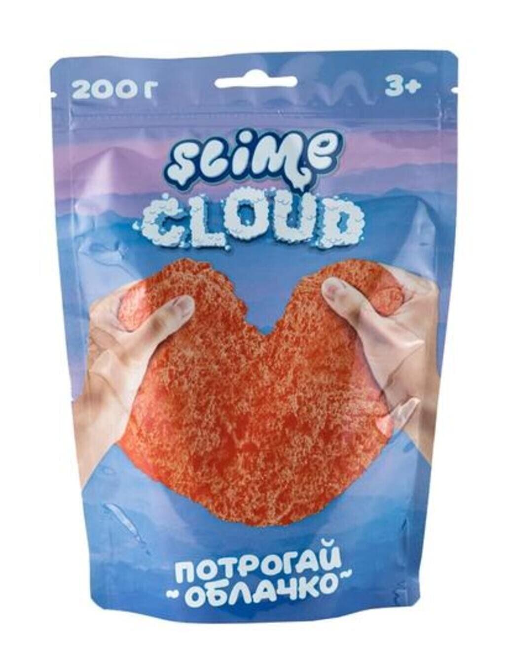 Cloud-slime Рассветные облака с ароматом персика, 200 г