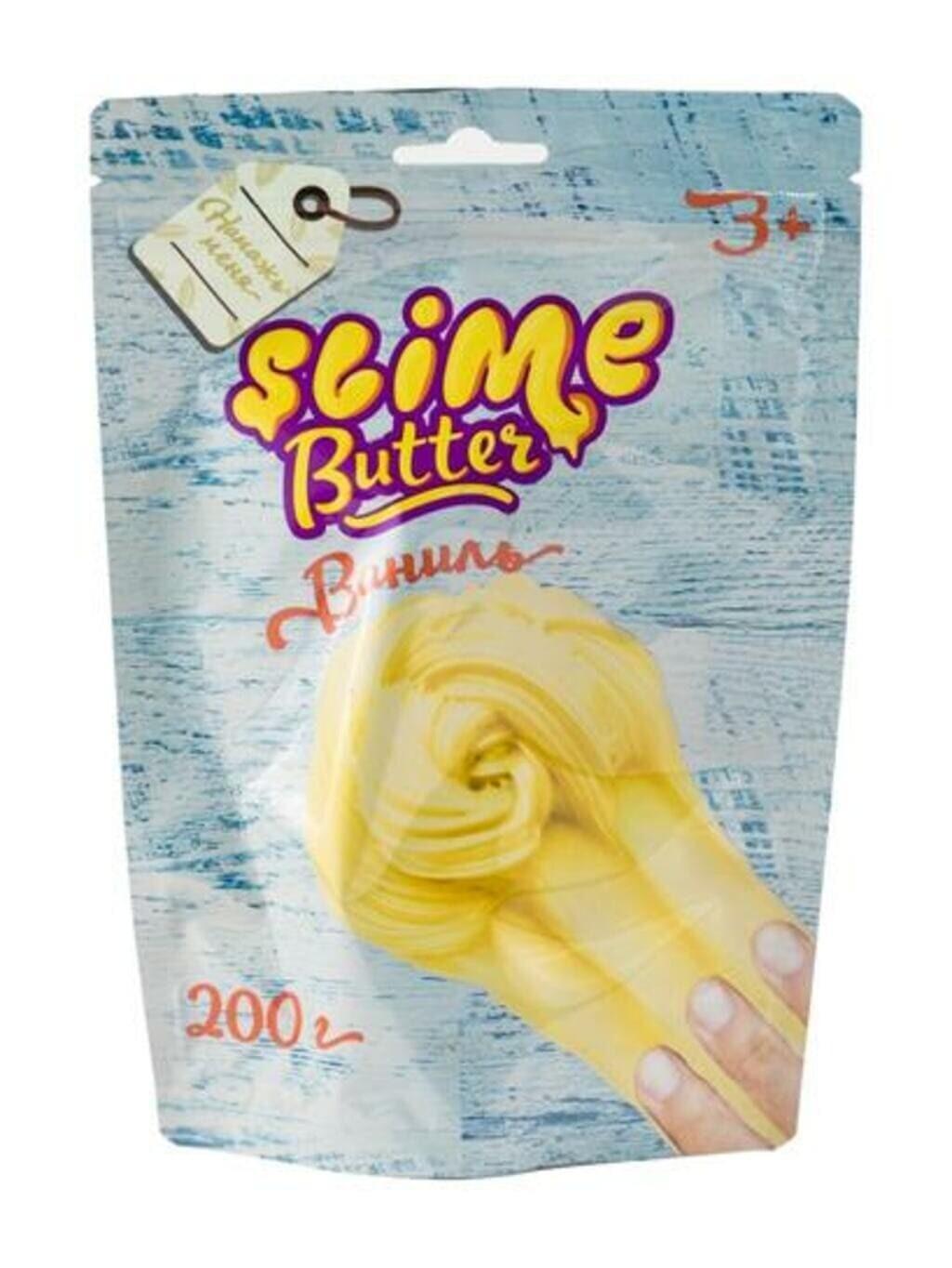 Butter-slime с ароматом ванили, 200 г