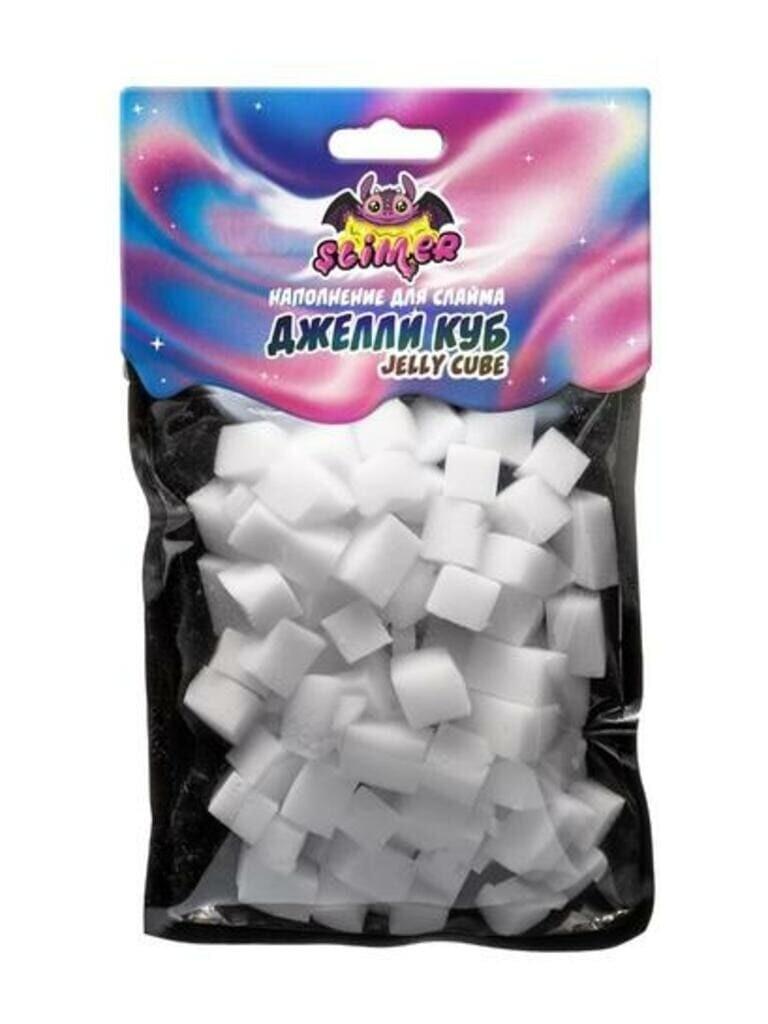 """Наполнение для слайма """"Кубики из пены """"Джелли куб (Jelly Cube)"""" ТМ """"Slimer"""""""