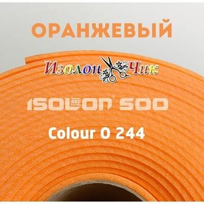 Изолон ППЭ 2 мм Оранжевый (O244) - ширина 75 см