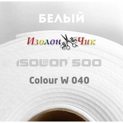 Изолон ППЭ 2 мм - ширина 75 см. Color W040 Белый                  (для творчества)