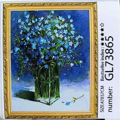 Алмазная мозаика без подрамника 40*50 см GL73865