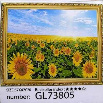 Алмазная мозаика без подрамника 50*40 см GL73805